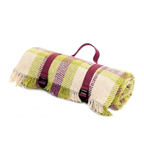Recycled Wool Picnic Blanket - Tryfan