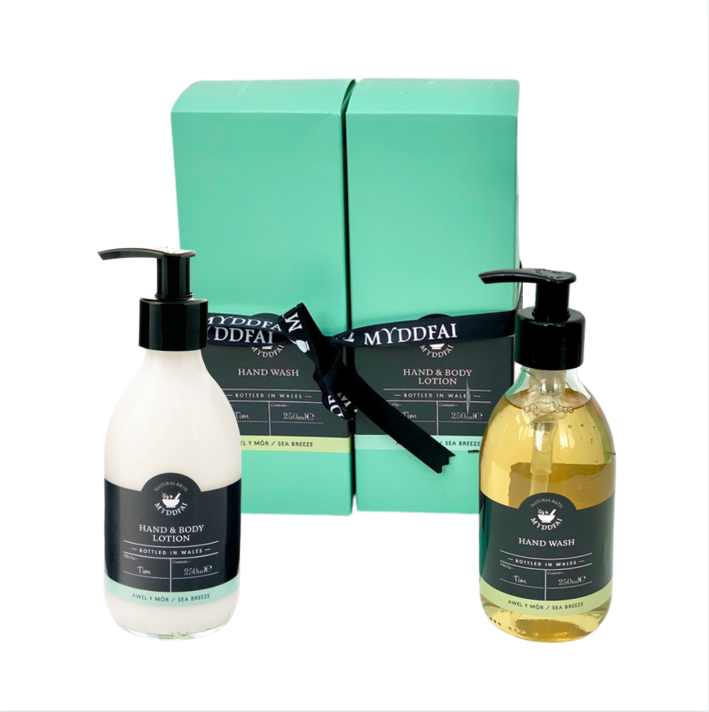 Myddfai Awel y Môr Sea Breeze Hand Care Set