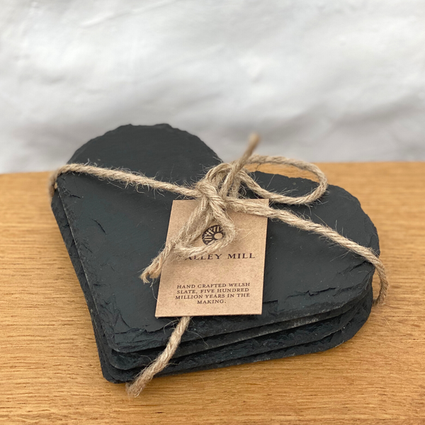 Welsh Slate Coasters (Pack of 4)