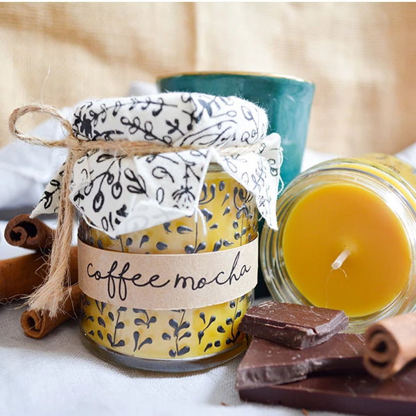Hand crafted candle - Coffee Mocha
