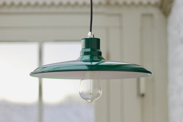 Rhyl Pendant Light - Green