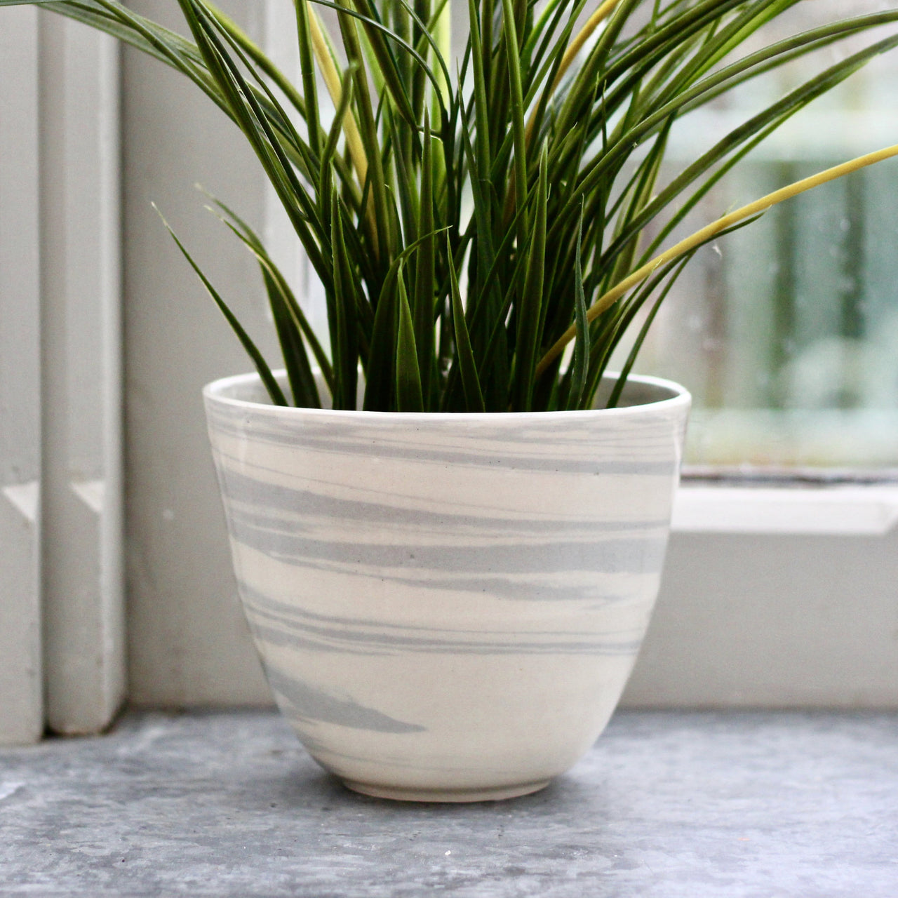 Marbled Planter Bowl - Large