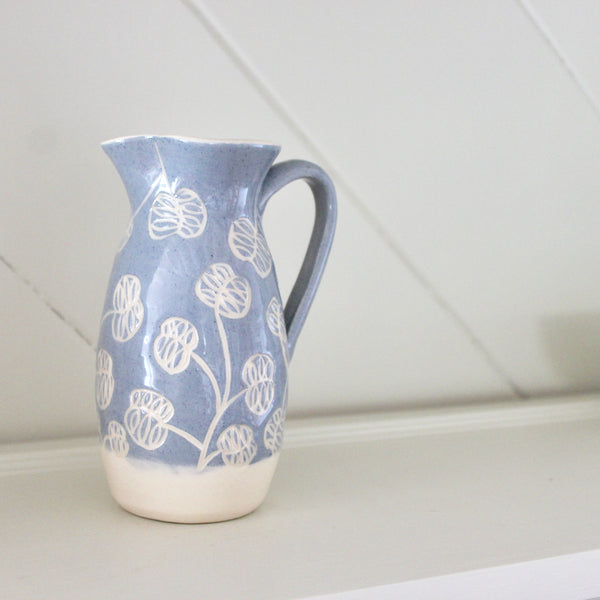 Blue Honesty Jug
