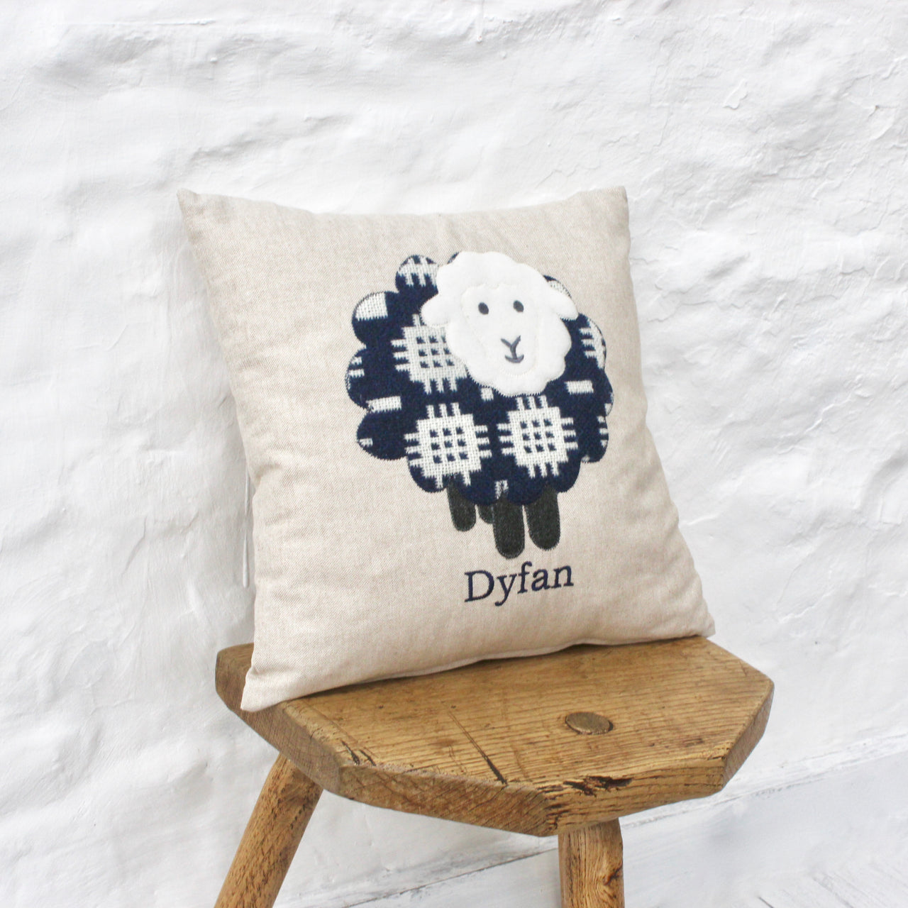 Personalised Tapestry Sheep Cushion