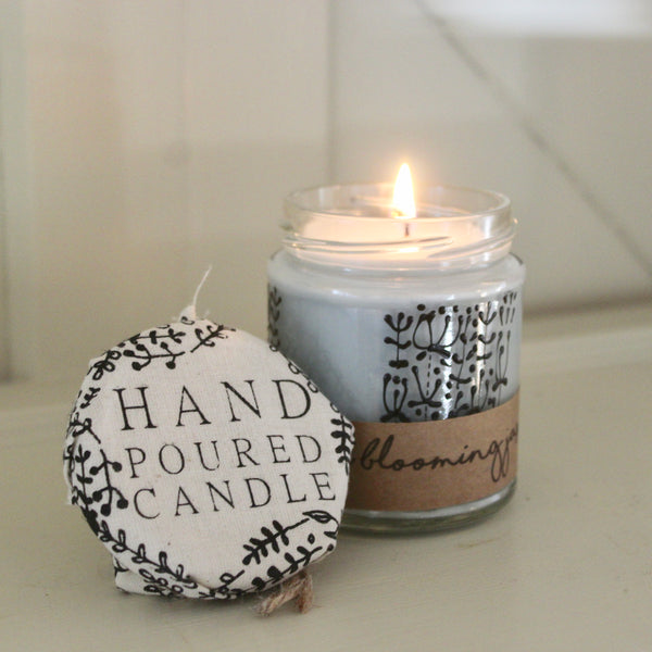 Hand crafted candle - Night Blooming Jasmine