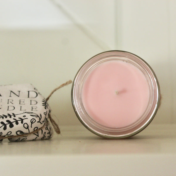 Hand Crafted Candle - Peony in Bloom