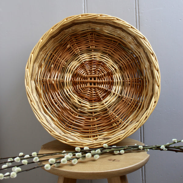 Willow Round Large Basket