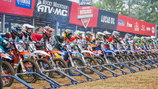 Lucas Oil Riders Podium at Loretta's Lynn's Amateur National Motocross Championship