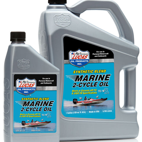 Synthetic Blend 2-Cycle Marine Oil