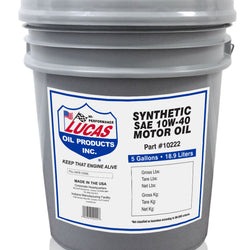High Performance European Synthetic Motor Oils