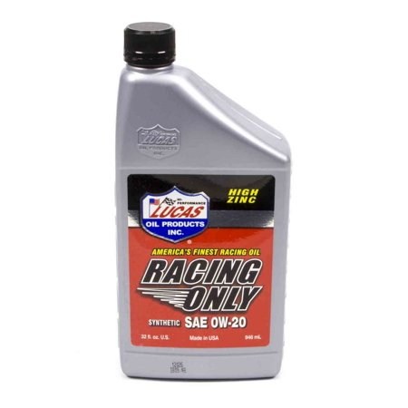 Synthetic 0W-20 Racing Oil quart - Clearance
