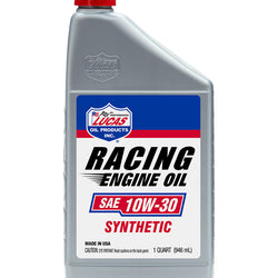 Synthetic SAE 10W-30 Racing Motor Oil