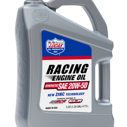 Synthetic SAE 5W-20 Racing Oil