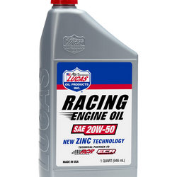 SAE 20W-50 Racing Only Motor Oil