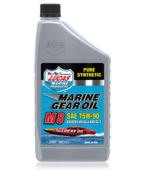 Marine Gear Oil Synthetic SAE 75W-90 M8