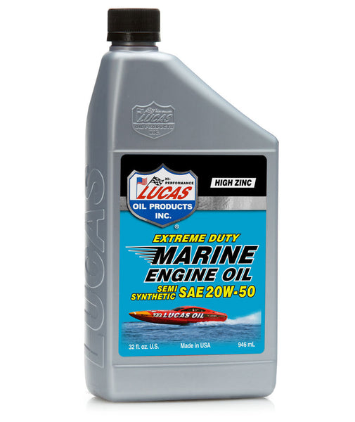 Extreme Duty Marine Engine Oil Semi Synthetic SAE 20W-50