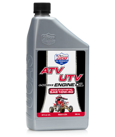 Semi-Synthetic SAE 10W-40 ATV Oil