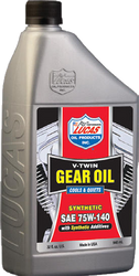 Synthetic SAE 75W-140 V-Twin Gear Oil