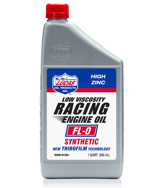 Synthetic Fl-0 Racing Engine Oil