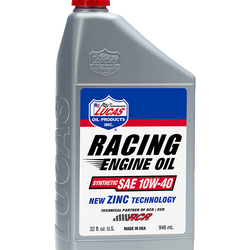 Synthetic SAE 10W-40 Racing Oil