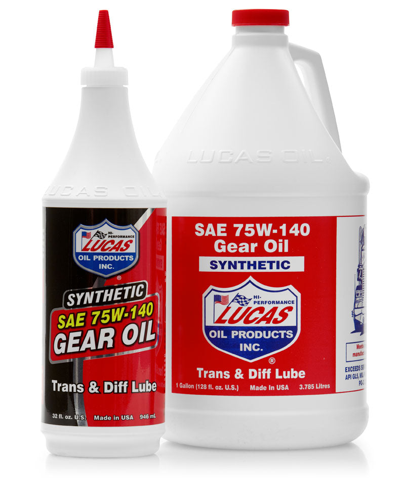 Synthetic SAE 75W-140 Gear Oil