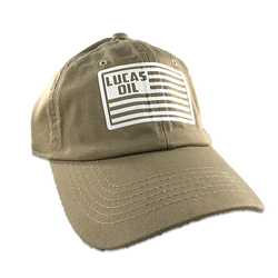 Beige Lucas Flag Dad Hat