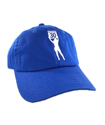 Bright Blue Lucas Board Girl Dad Hat