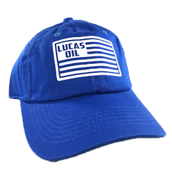 Bright Blue Lucas Flag Dad Hat