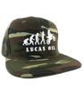 Lucas Oil Evolution Camo Snapback Hat