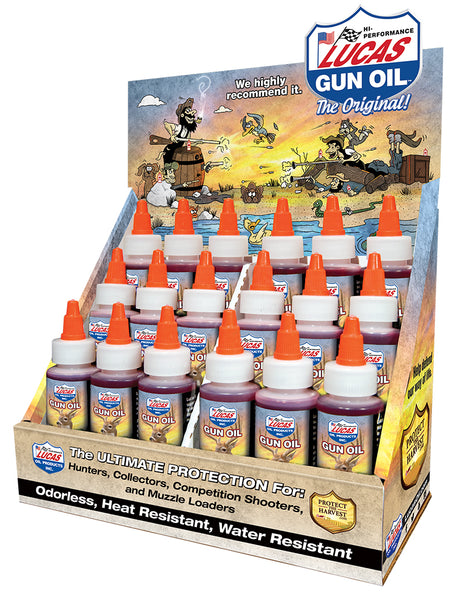 Original Gun Oil Display