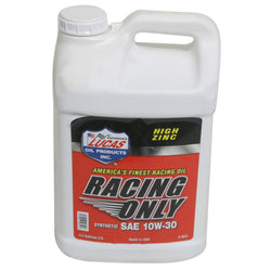 Racing Only Synthetic SAE 10W-30 2.5 Gal - Clearance