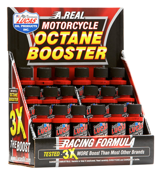 Motorcycle Octane Booster Display