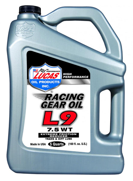 L9 Racing Gear Oil - 5 Quart Case (3)