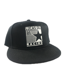 Youth Black Lucas Oil 89 Snapback Hat