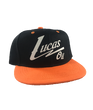 Youth Orange Bill Lucas Snapback Hat