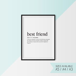 BEST FRIEND - DEFINITION