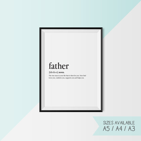 FATHER - DEFINITION