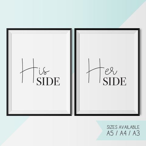 HIS & HER SIDE - Set
