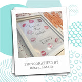 KISS THE MISS GOODBYE - BRIDE / WEDDING / HEN - CUSTOMISABLE