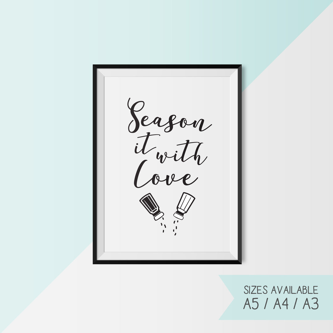 SEASON IT WITH LOVE