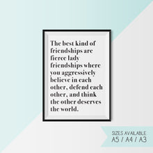 THE BEST KIND OF FRIENDSHIPS...