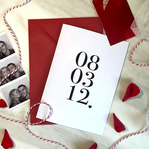 SPECIAL DATE - A6 - VALENTINE'S CARD