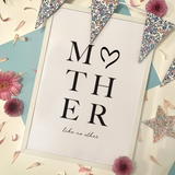 MOTHER LIKE NO OTHER - PRINT