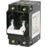 Blue Sea 7256 C-Series Double Pole Circuit Breaker - 80A