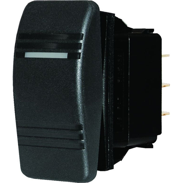 Blue Sea 8286 Water Resistant Contura Switch - Black