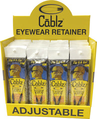 "CABLZ 40PC DISPLAY 14"" ZIPZ BLACK"
