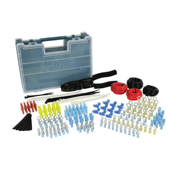 Ancor 225 Piece Electrical Repair Kit w/Strip & Crimp Tool