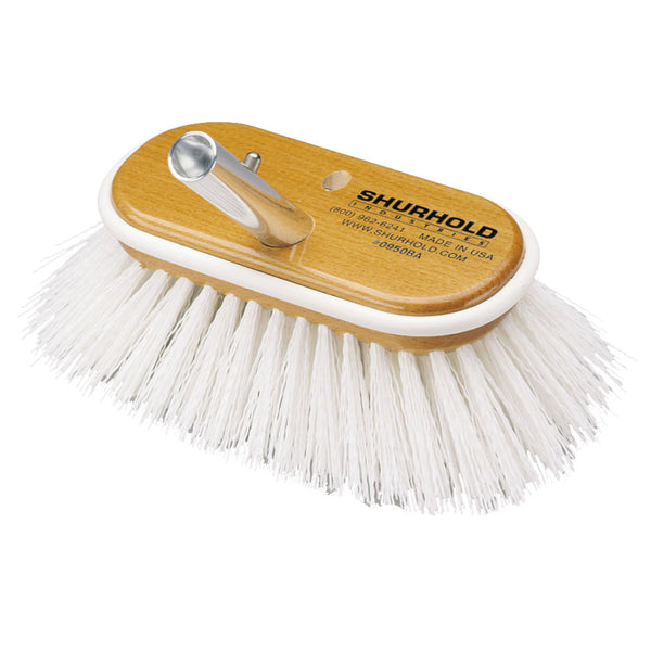 "Shurhold 6"" Polypropylene Stiff Bristle Deck Brush"