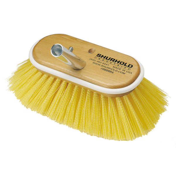 "Shurhold 6"" Polystyrene Medium Bristle Deck Brush"