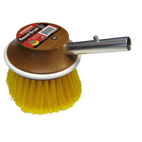 "Shurhold 5"" Round Polystyrene Soft Brush f/ Windows, Hulls, & Wheels"